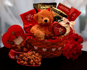 Little Devil Chocolate Temptations Gift Basket imagerjs
