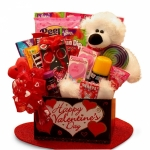 Beary Huggable Valentine Box for Kids