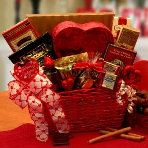 Cupids Choice Valentines Chocolates Gift Basket imagerjs
