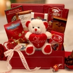 Message of Love Chocolate Valentine Gift