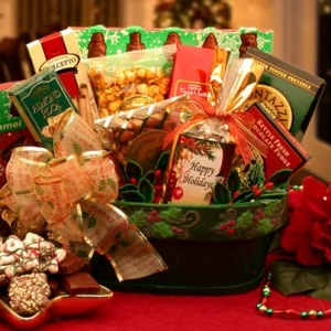 A Merry Greeting Gift Basket imagerjs