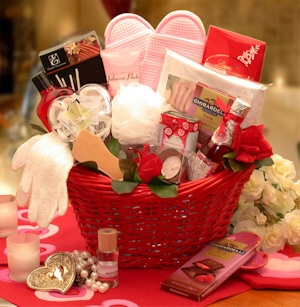Mind Body & Soul Spa Gift Basket imagerjs
