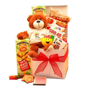 Get Well Baskets for Kids