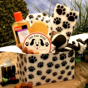 Paw Prints Dog Care Package imagerjs