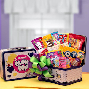 Retro Blow Pop Lunch Box Snack Gift imagerjs