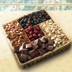 Nutty and Sweet Snack Tray