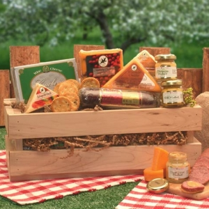 Sausage and Cheese Crate Sampler imagerjs