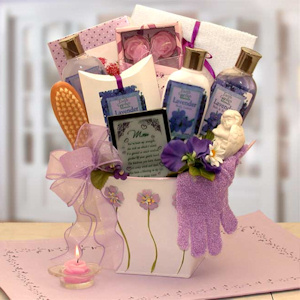 Lovely in Lavender Bath Gift Set for Mom imagerjs