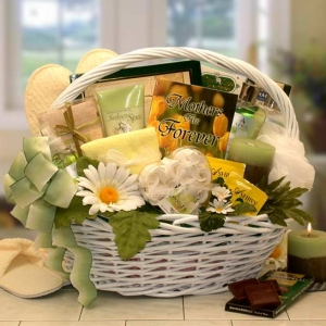 Mothers are Forever Spa Gift Basket imagerjs