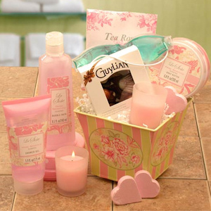 Pretty in Pink Spa Gift Tin imagerjs