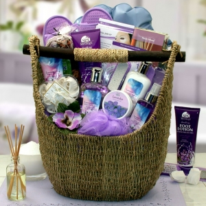 Lavender Sky Ultimate Bath & Body Tote imagerjs