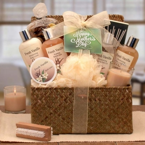 Blissful Relaxation Vanilla Mother's Day Gift Set imagerjs