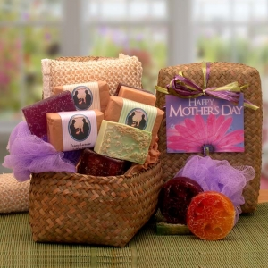 Mother's Day Organics Scented Soap Gift Set imagerjs
