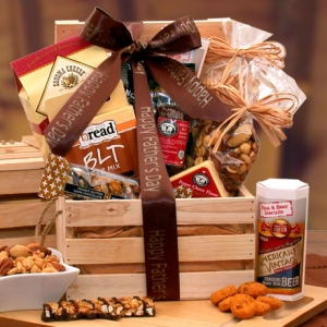 Dad's Favorites Premium Nuts & Snacks Crate imagerjs