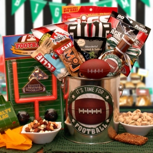 It's Football Time Gift Pail imagerjs