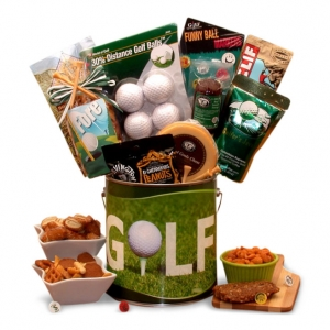 Fore! Golfer's Gift Pail imagerjs