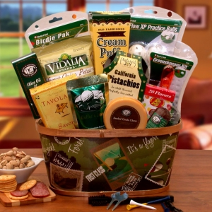A Hole in One Golf Gift Basket imagerjs