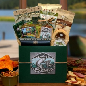 I'd rather Be Fishing Gift Box imagerjs