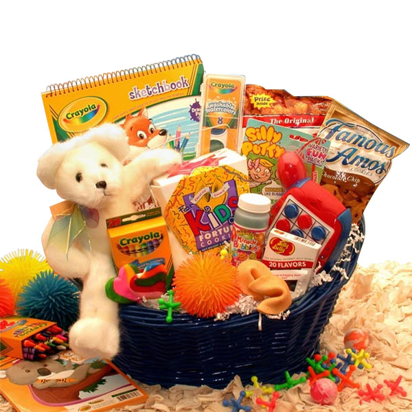 Kids Activity Basket All About Gifts Amp Baskets