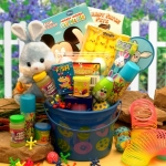 Little Blue Bunny Easter Fun Pail