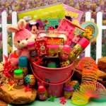 Little Bunny Pink Easter Fun Pail