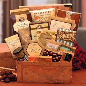Gourmet Sampler Gift Chest imagerjs