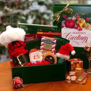 Seasons Greetings Holiday Gift Box imagerjs