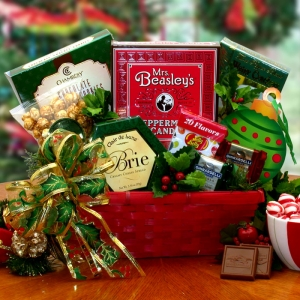 Christmas Greetings Gift Basket imagerjs