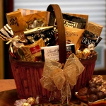 Chocolate Decadence Golden Gift Basket
