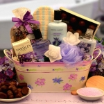 A Moment of Tranquility Spa Basket