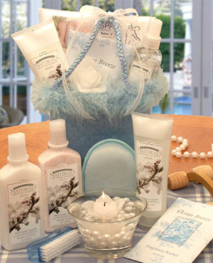 Spoil Her Fabric Spa Gift Tote image