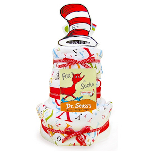 Dr. Seuss Three Tier Diaper Cake imagerjs