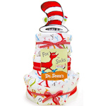 Dr. Seuss Three Tier Diaper Cake
