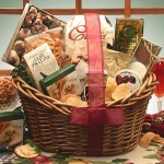 Gourmet Snacker Gift Basket Sampler