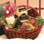 With Sincere Sentiments Sympathy Gift Basket