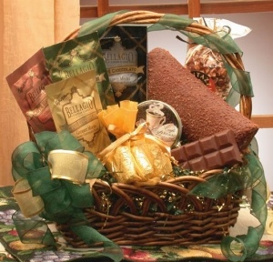 Cappuccino Lovers Gift Basket data-pin-no-hover=