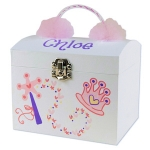 Personalized Musical Ballerina Jewelry Box
