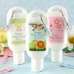 Personalized Baby Designs Sunscreen Favors
