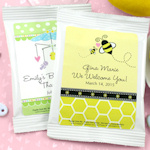 Personalized Baby Shower Lemon Drop Drink Mix Favors