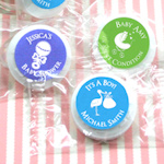 Baby Silhouette Personalized Life Savers Favor Mints