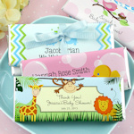 Baby Shower Personalized Chocolate Bars (Many Designs)