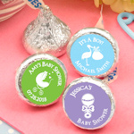 Personalized Edible Baby Shower Hershey Kisses