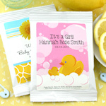 Personalized Baby Shower Lemonade Favors (Many Designs)