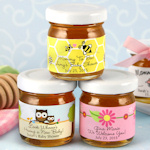 Baby Shower Personalized Honey Jars (Many Designs)