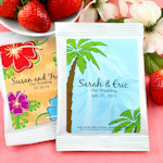 Tropical Themed Strawberry Daiquiri Mix Favors