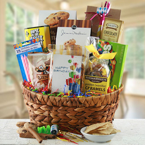 Birthday Time Gift Basket imagerjs