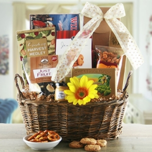 Nuts About Snacking Sweet & Salty Food Basket imagerjs