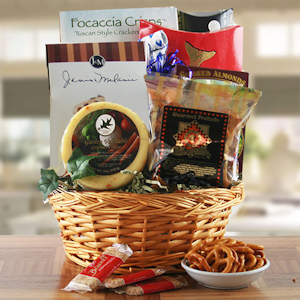 Hearty Gourmet Snack Gift Basket imagerjs