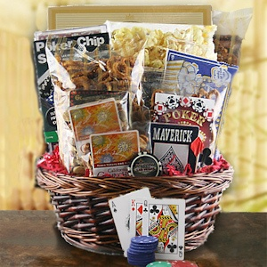 All In Poker Night Gift Basket imagerjs