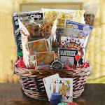 All In Poker Night Gift Basket